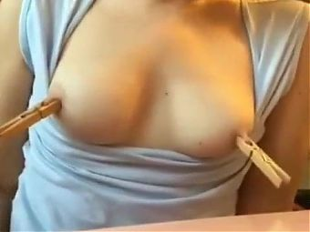 Pegs on nipples
