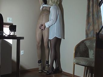 My Slavelife 8 with pantyhose