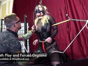 Breath Play and Bound Orgasms