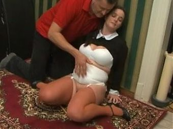 Harsh spanking for the orgasm